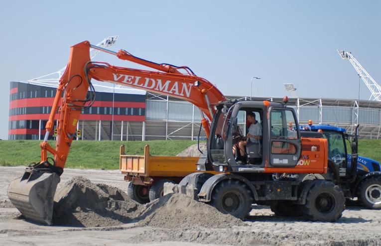 Loonbedrijf Veldman - Zaxis 130W AZ Alkmaar